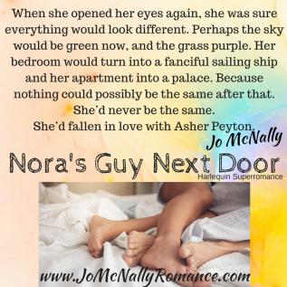 Nora's Guy Next Door Nothing the Same (2)